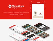 Moneygram Commentary Challenge Mobile App