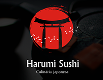 Harumi Sushi - Rebrand