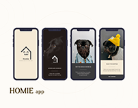 Homie App for your dogs - Mobile App
