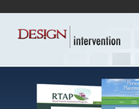 Design Intervention Website Design
