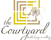 The Courtyard Spa Stationery/Branding