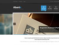 Web theme Abanix