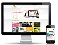 Les Argonautes - Responsive website