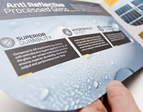 Sunarc | identity, brochure & roll-ups
