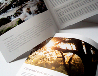 Print / LSG Sky Chefs  Environmental Report Brochure