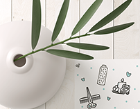 Varna Beauty Studio - Graphic Design Concepts