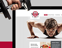 RebelFit Gym website