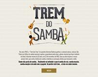 Trem do Samba (infográfico interativo + vídeo)