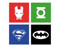 from Metro style icons to super heros t-shirt