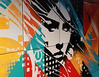 Live Painting @ AD Oasis | Art Basel Maimi Beach