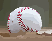 Wacom Baseball painting