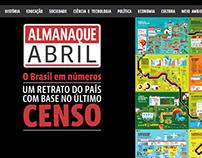 Censo Brasil (infográfico interativo + vídeos)