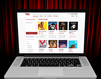 Theater ticketing website - Hit the theatre