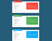 Vertical Pricing Table