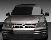 Volkswagen Caddy-3d Modelling