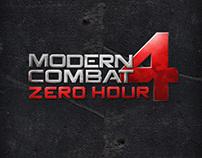Modern Combat 4 Website