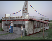 Carwash all made in 3ds max/ Vray .