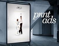 Some print ads