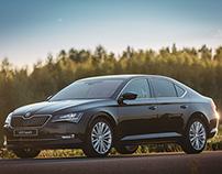 New Škoda Superb