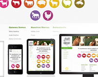 RWD Web Development for Animal Nutrition Company