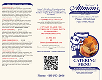 Attman's Deli Catering Menu