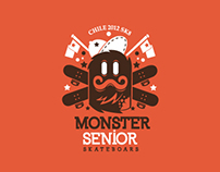 Monster Senior Skateboards company