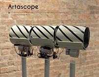 Artascope--- Interactive installation