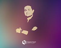 Graphic designer Hussein Talaat