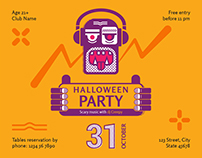 Halloween Party | Modern and Creative Templates Suite
