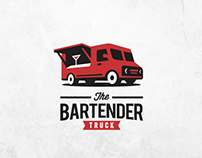 The Bartender Truck Logo