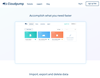 Cloudpump - benefits