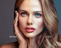 Skin Retouch Photoshop Tutorial