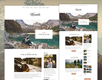 Kamila - Travel Blog Theme