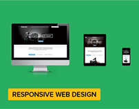 Responsive Web Design + Webpage + Sketches