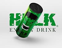«HULK ENERGY DRINK».