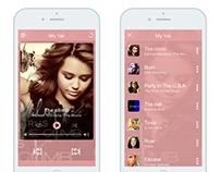 #009 Daily UI Challenge Music player