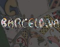 Barcelona(city) - characteristic font