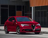 Alfa-Romeo Stelvio Hatch and Sedan