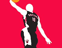 NBA Minimalist Series
