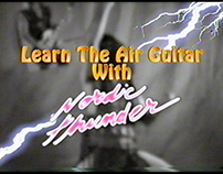 Learn the Air Guitar with Nordic Thunder Episode 1