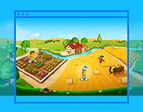 Amici del Mulino website & games