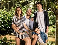 Família Andrade à espera do Leonardo | Maio 2017