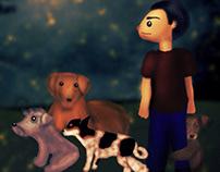 Daniel & the dogs