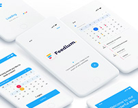 Feedium - Branding | UI