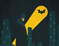 Batman Minimal Illustration