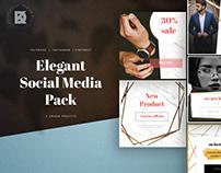 Elegant Social Media Pack