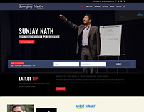 Motivational Speaker Sunjay Nath ~ Webfolio