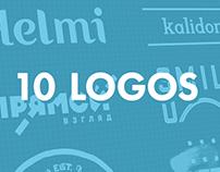 10 LOGOTYPES (2012-2015)