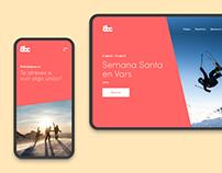 Ochobajocero Website Redesign