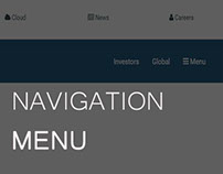 Responsive (Top) Navigation Menu | HTML5 and CSS3
